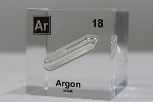 Argon Element Cube