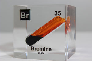 Bromine Element Cube