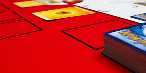 The Gaming Mat Company Red and White Pokemon Our Mats In Action