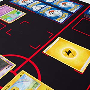 The Gaming Mat Company Pokemon Black Red Mat Main Our Mats In Action