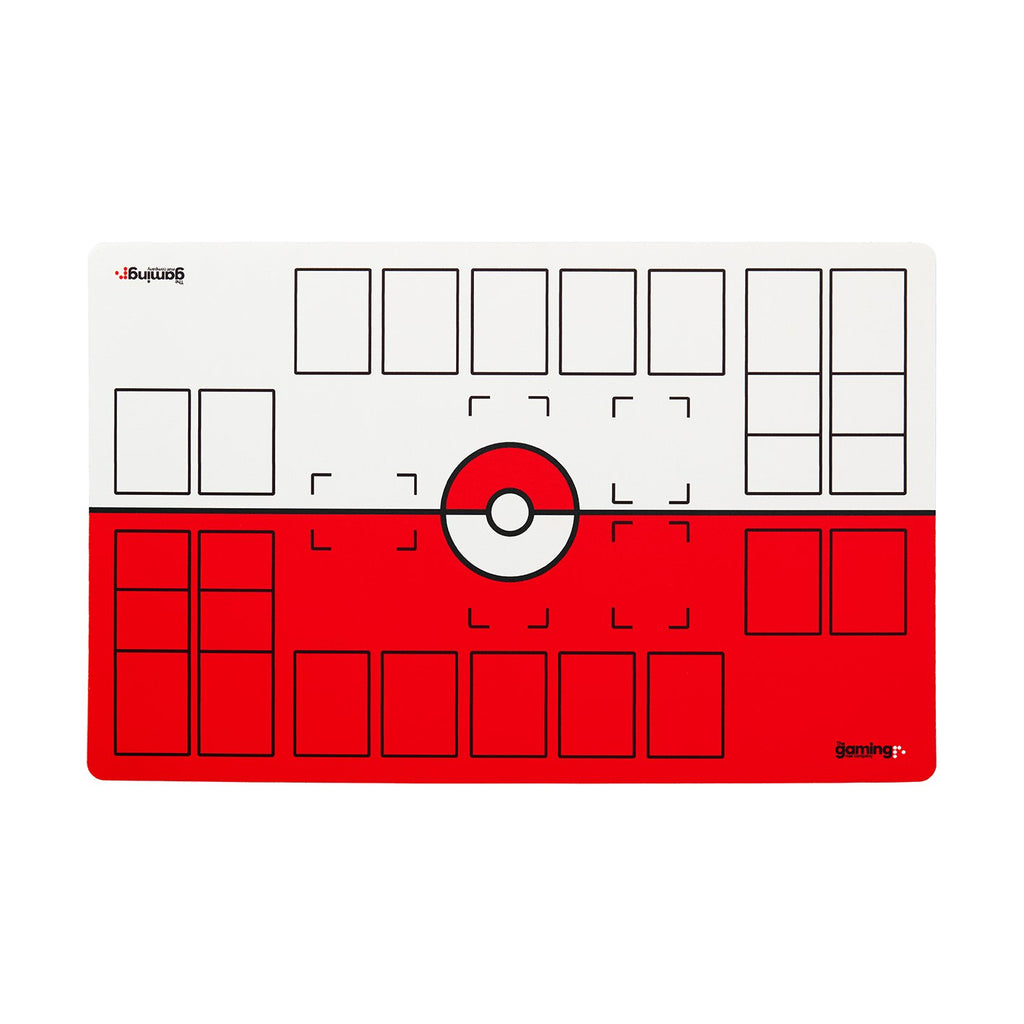 The Gaming Mat Company™ 2 Player Pokemon Play Mat With Zones For Pokemon Trading Card Games TCG Battles