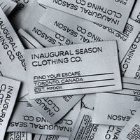 Woven Labels 2.5""
