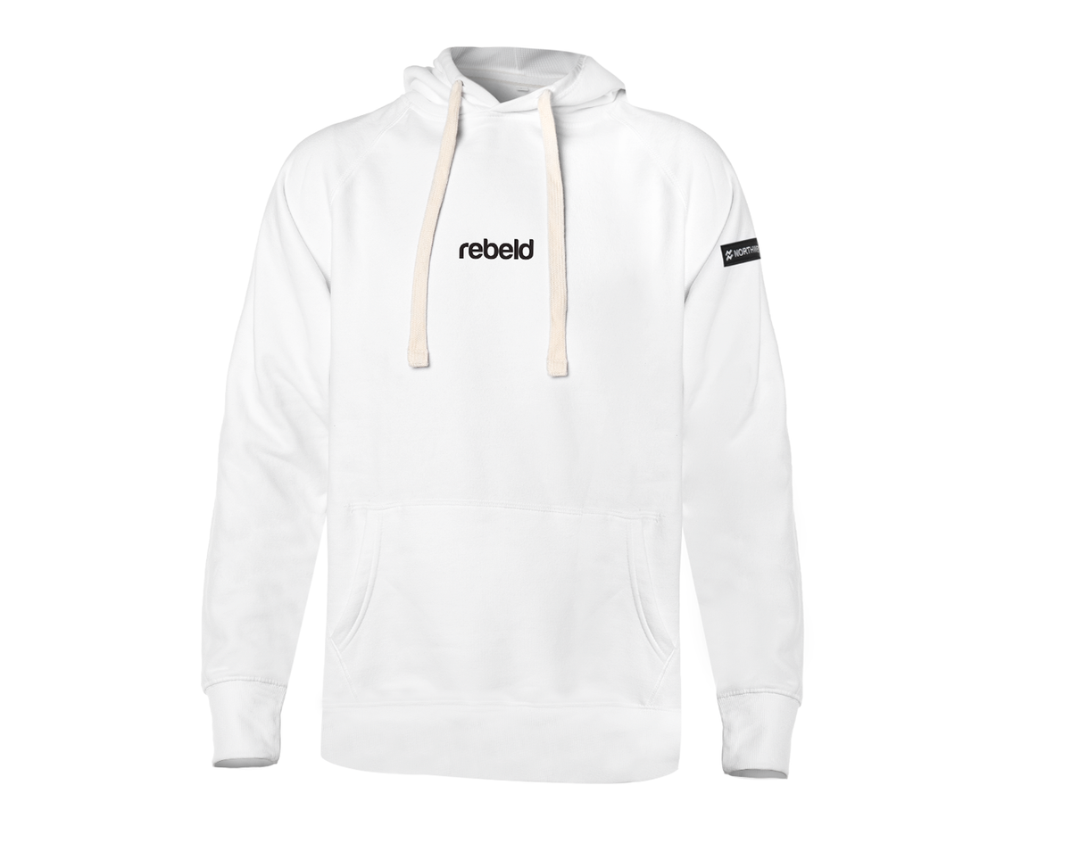 NORTHWEEK X REBELD LIMITED WHITE HOODIE REGULAR DUKE