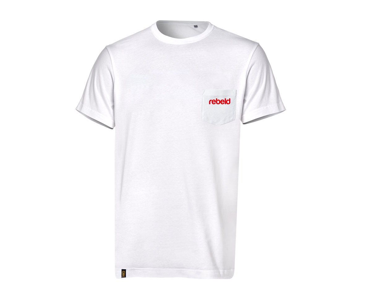 Camiseta POCKET blanca