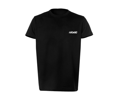 Camiseta essential negra