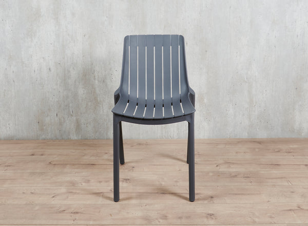 Silla PP Gris Apilable