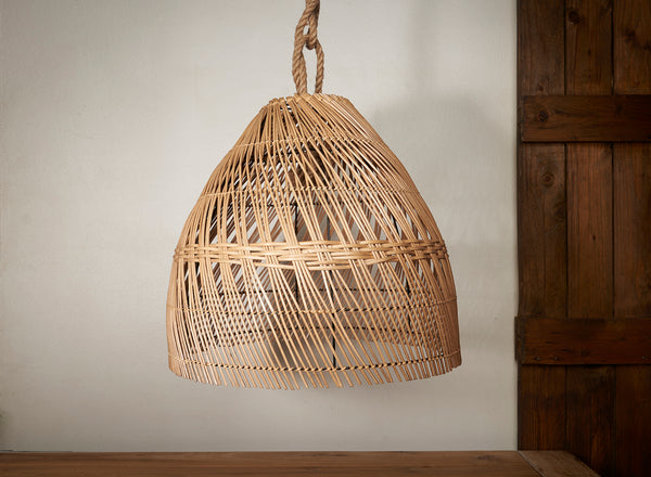 Lámpara Indonesia Rattan 45cm