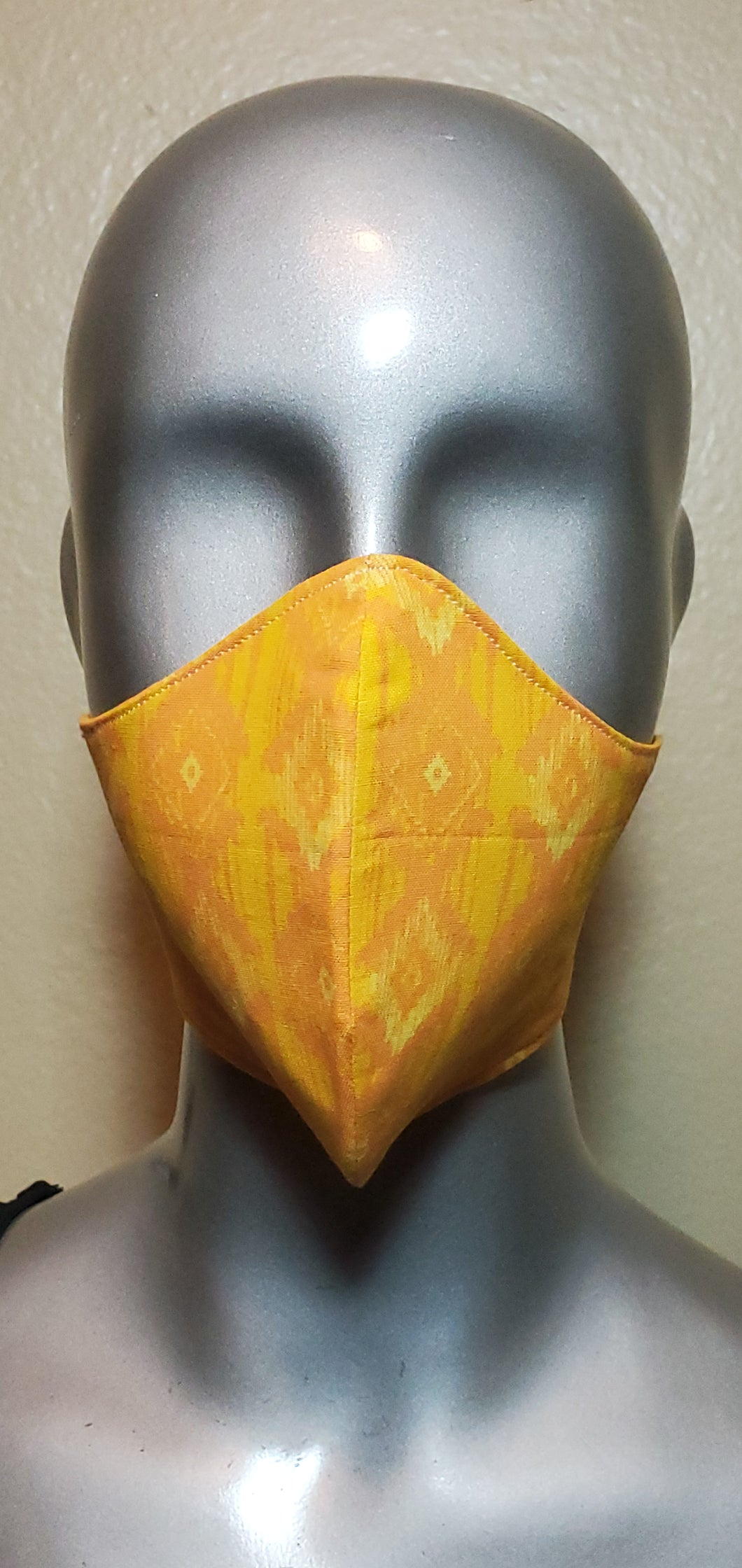Yellow Southwest Fabric Mask