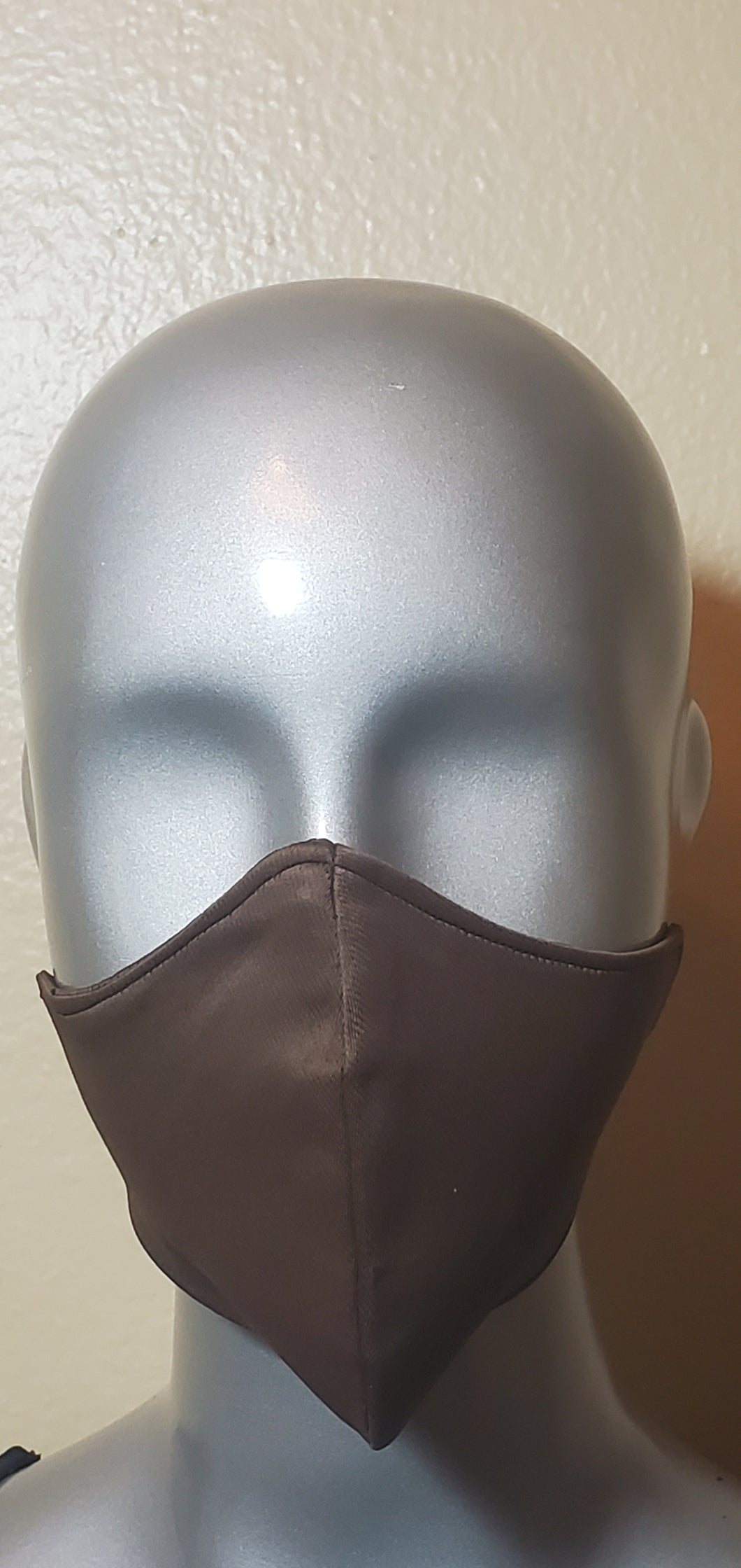 Brown Fabric Mask