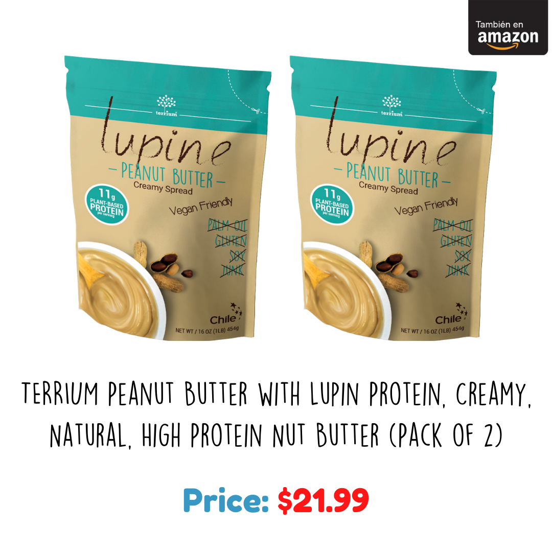 Terrium Peanut Butter with Lupin Protein