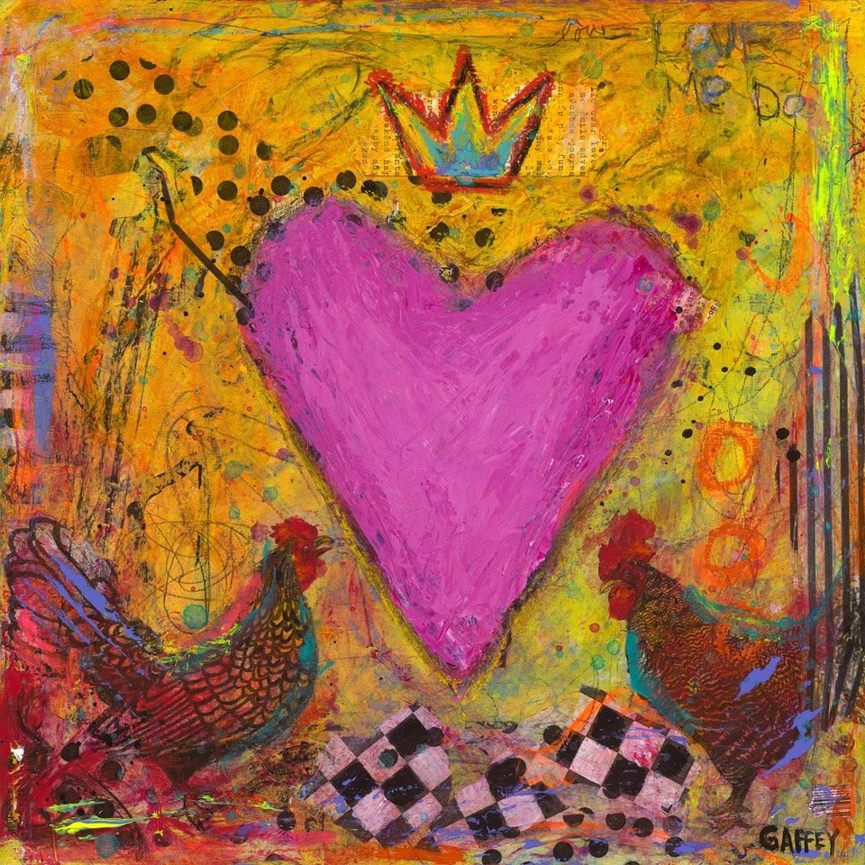 FREE RANGE LOVE | ORIGINAL | SOLD