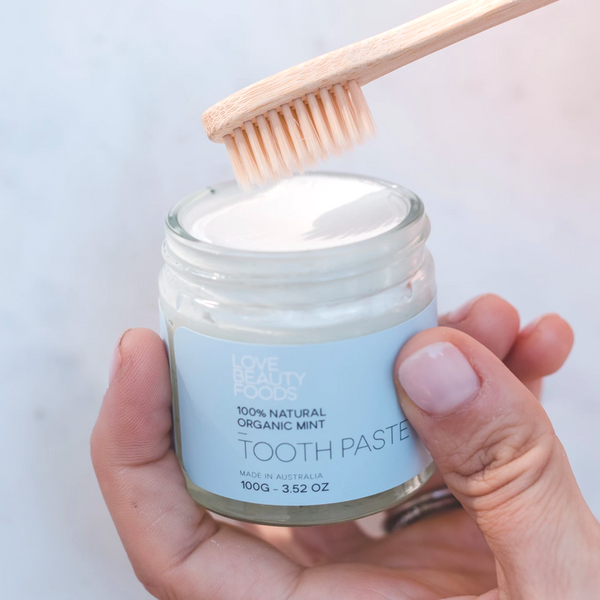 natural organic toothpaste