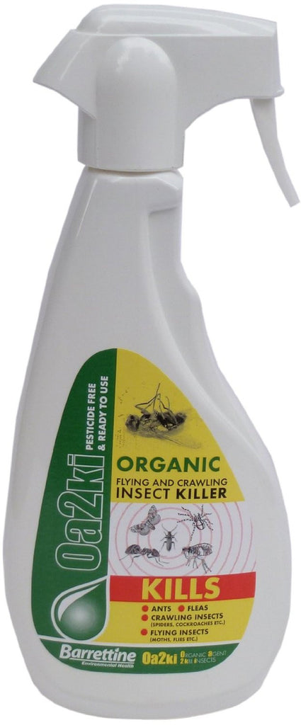 Oa2ki Natural Insecticide Spray, Trigger Spray