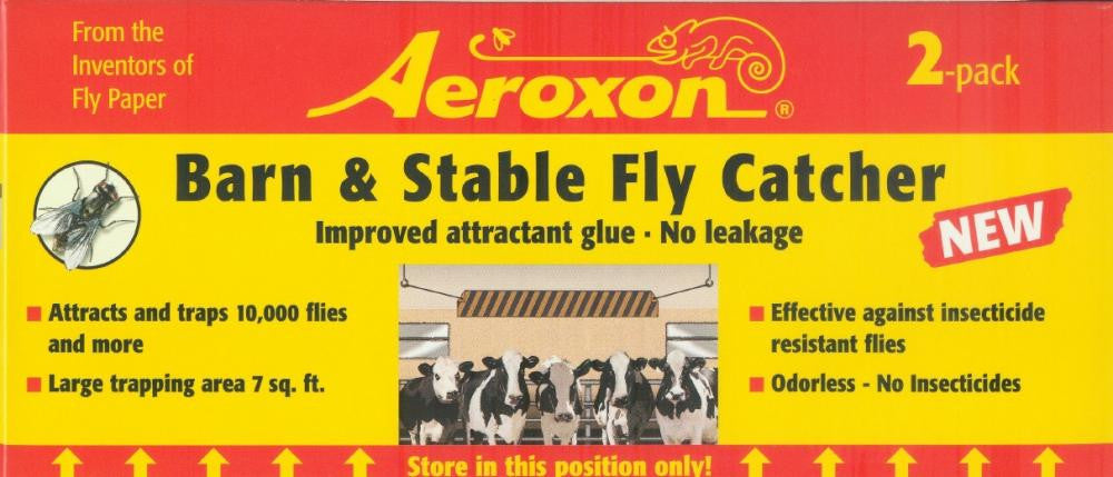 Aeroxon Barn and Stable Fly Catcher, 2 pack