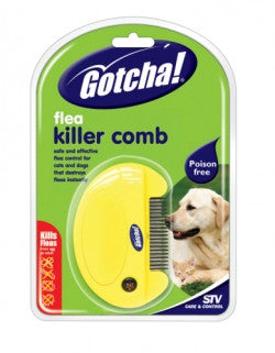 Gotcha! Flea Killer Comb