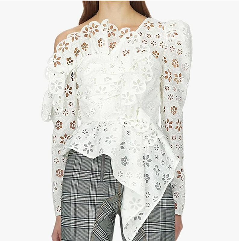 The Eyelet Blouse
