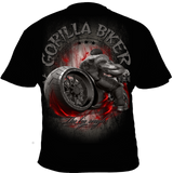 T- Shirt ( GB51N Gorilla Biker Burnout )