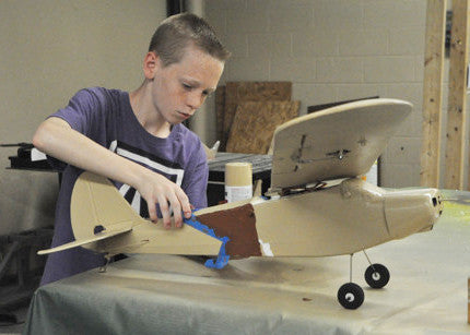 Design and Build a Radio-controlled Airplane! ( 6th - 12th grades)