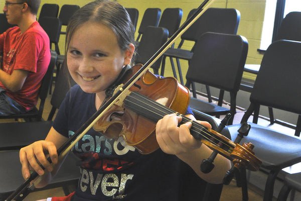 Bluegrass Fiddle Camp (5th - 12th grades)