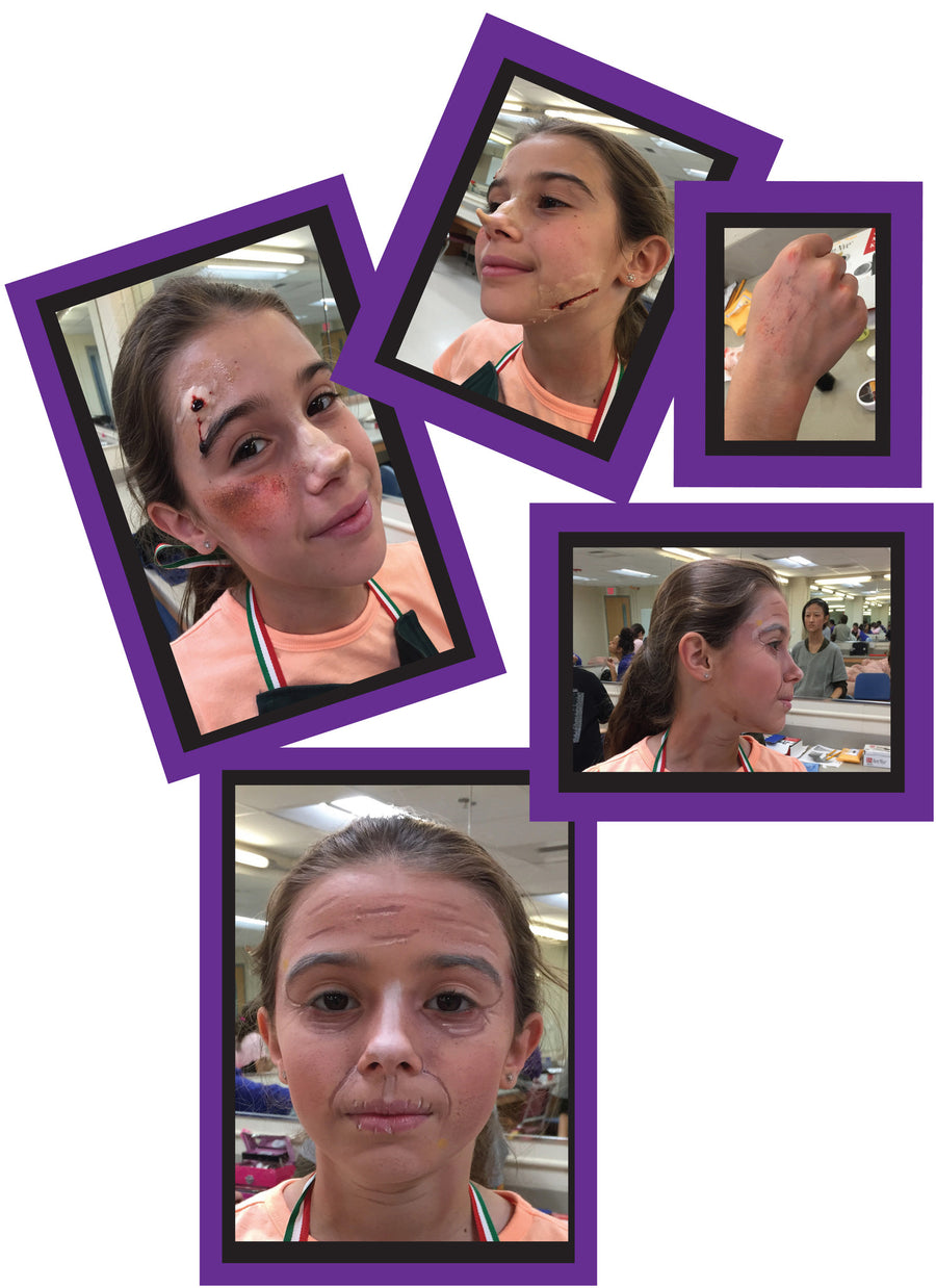 Introduction to Stage Make-up Design/ Application (6th - 12th grades)