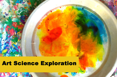 Art Science Exploration  (K - 2nd grades)