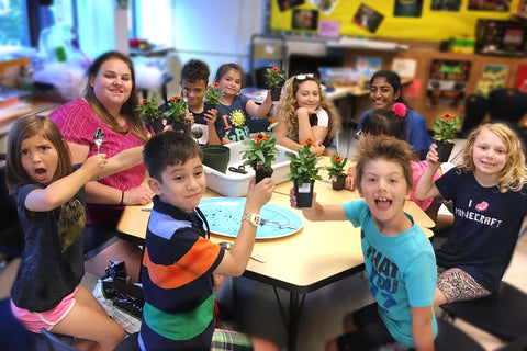 Exploring STEAM with The Gardener   (K-2nd)