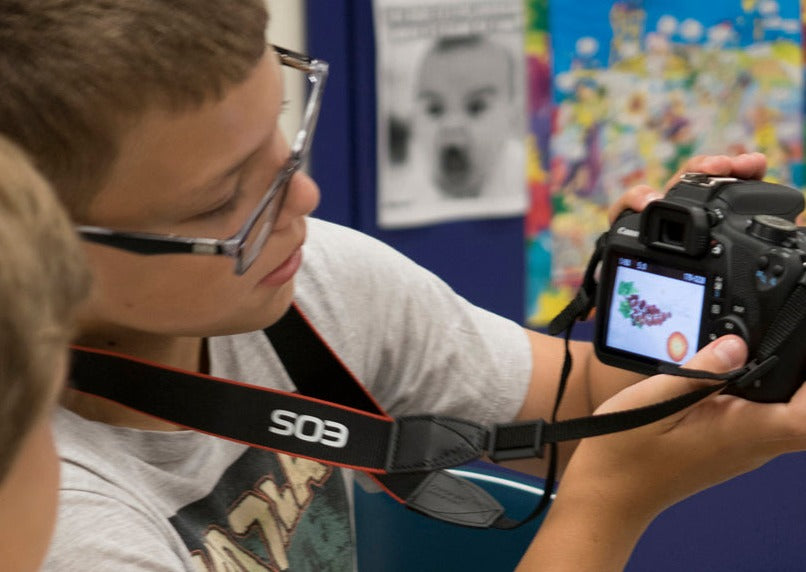 Introduction to Digital Photography (3rd - 5th grades)