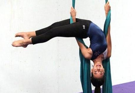 Learn to Fly! - Aerial Silks (5th -12th grades)