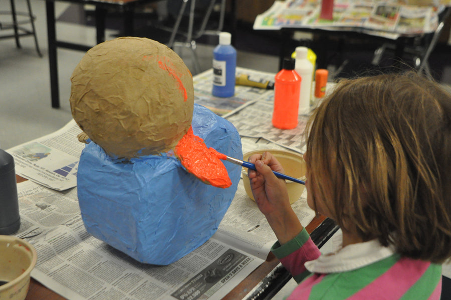 DIY Sculptures (Paper mache, oven-bake lay, etc.)   (3rd - 5th grades)