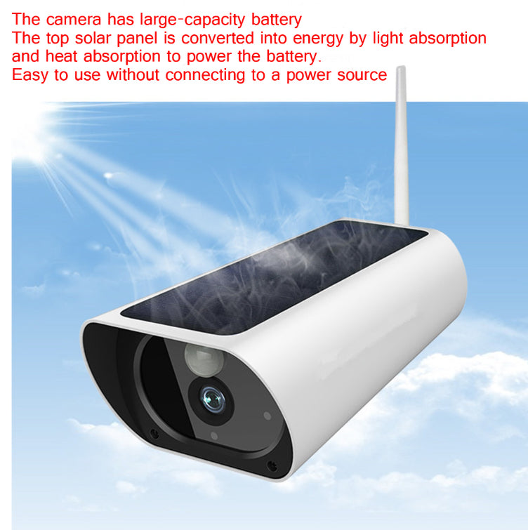 Electronics - Owlsy Solar Powered 1080p Remote Wireless Wifi Outdoor Security Camera System With Waterproof HD Infrared Night Vision