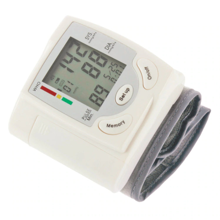 Electronics - Vitalzz 2-in-1 Digital Pulse Oximeter SpO2 Sensor And Wrist Blood Pressure Monitor Set