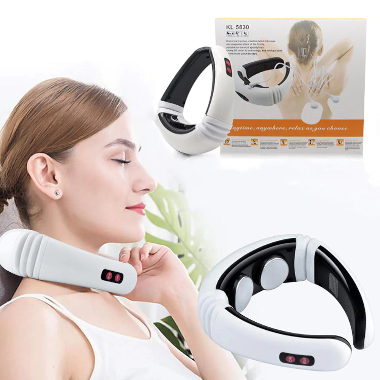 Fitness - Soothzz™ Cervical Neck And Shoulder Massager: Your Best Choice For Cordless, Electric And Magnetic Massage Therapy