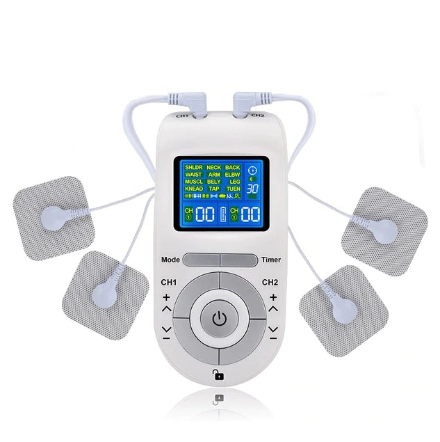 Soothzz TENS Stim Unit and Electrotherapy Machine for Muscle Pain Relief - Best Device for Wireless Transcutaneous Electrical Nerve Stimulation