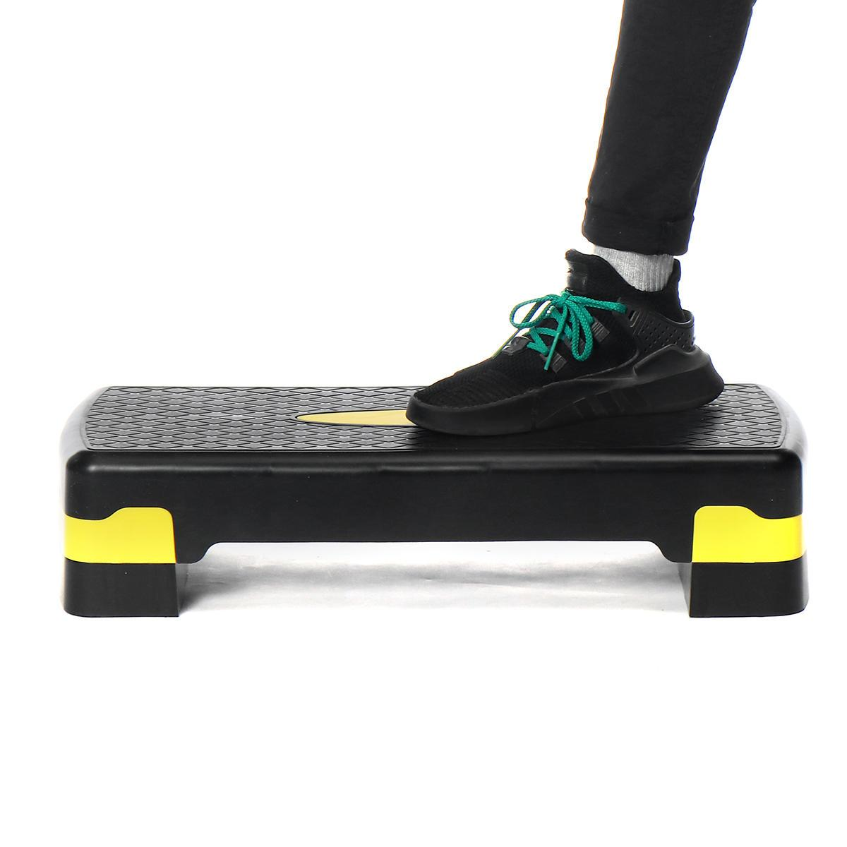 Stepsy Adjustable Exercise Gym Stepper Best for Cardio Aerobic and Fitness Workouts