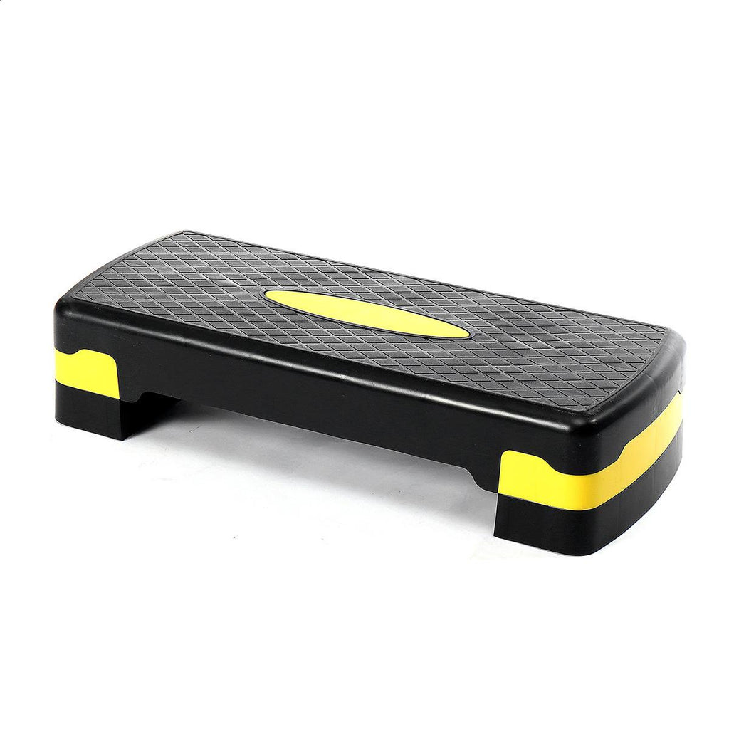 Fitness - Stepsy™ Adjustable Exercise Gym Stepper Best For Cardio Aerobic And Fitness Workouts