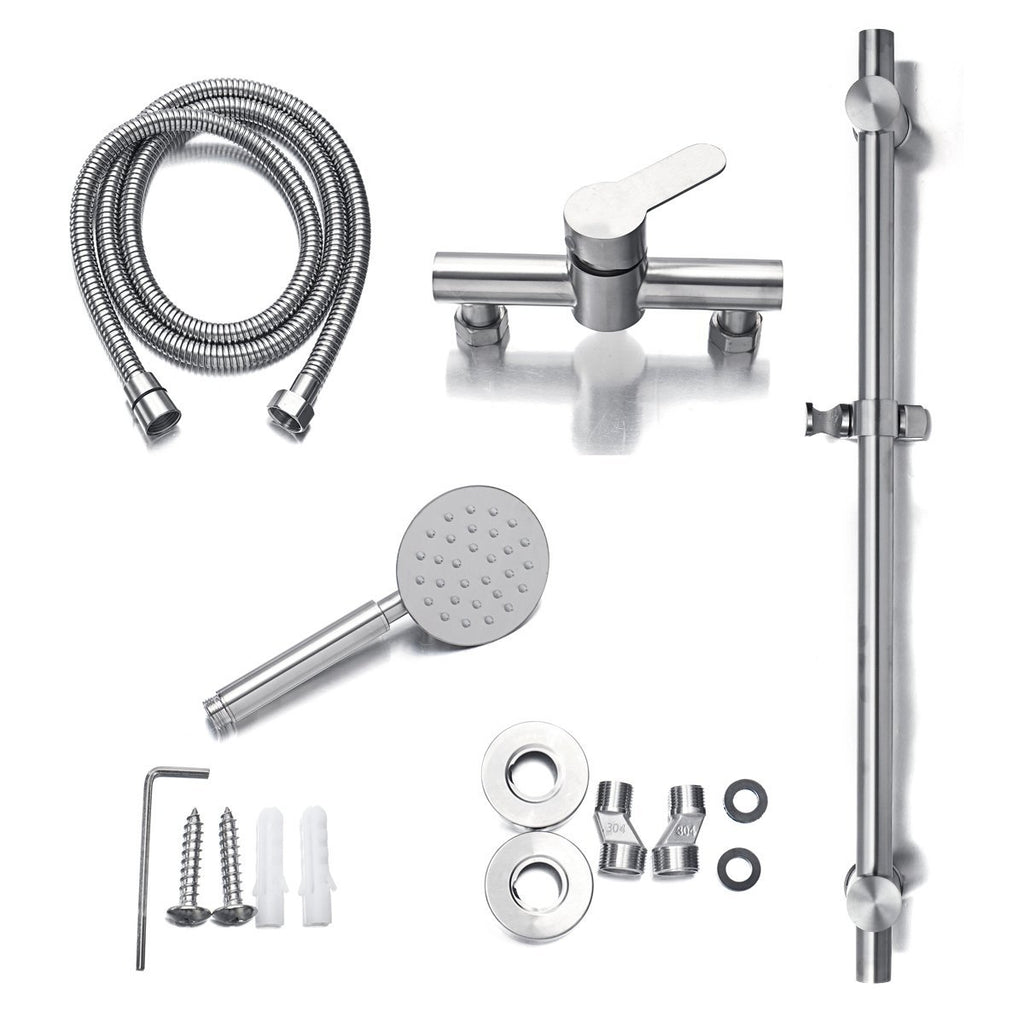 Hardware & Accessories - Stainless Steel Adjustable Shower Head System