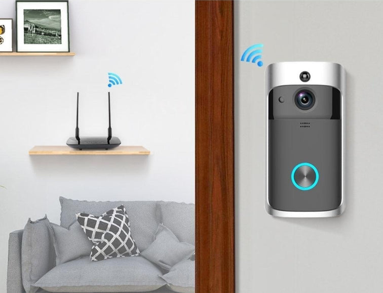 Home Audio & Video - Owlsy™ Wireless Wifi Rainproof Video Doorbell Remote Smartphone Camera Best For Home Security