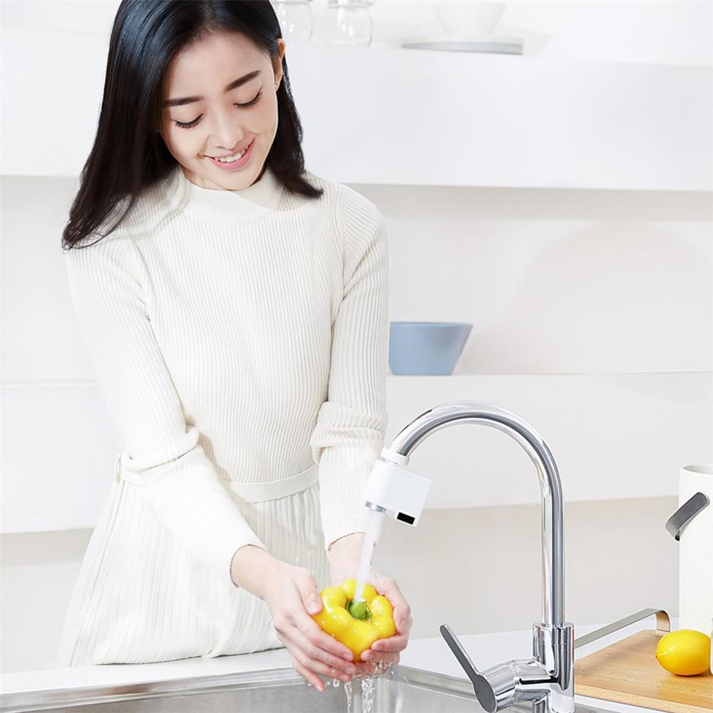 Kitchen And Bath - Sensy™ Touchless Hands Free Faucet With Automatic Sense No Touch Infrared Induction Flow Motion Sensor Best For Kitchen And Bathroom Sink