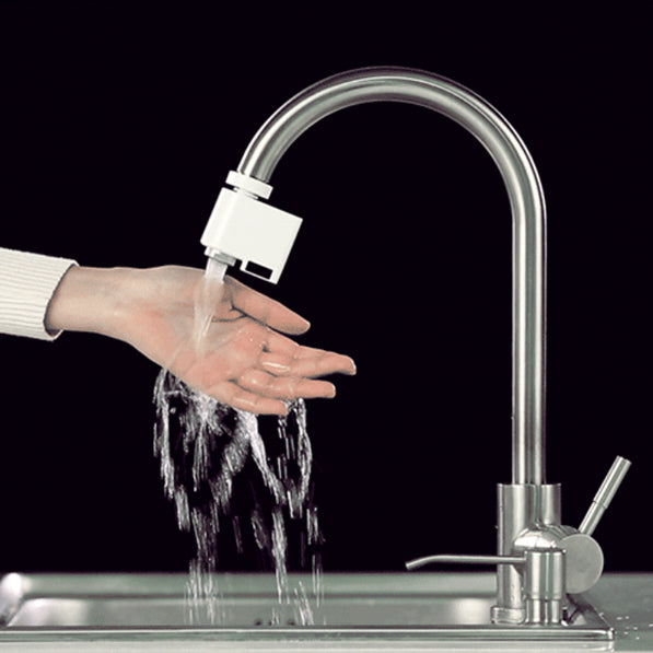 Sensy Touchless Hands-Free Faucet featuring a No-Touch Infrared Flow Motion Sensor