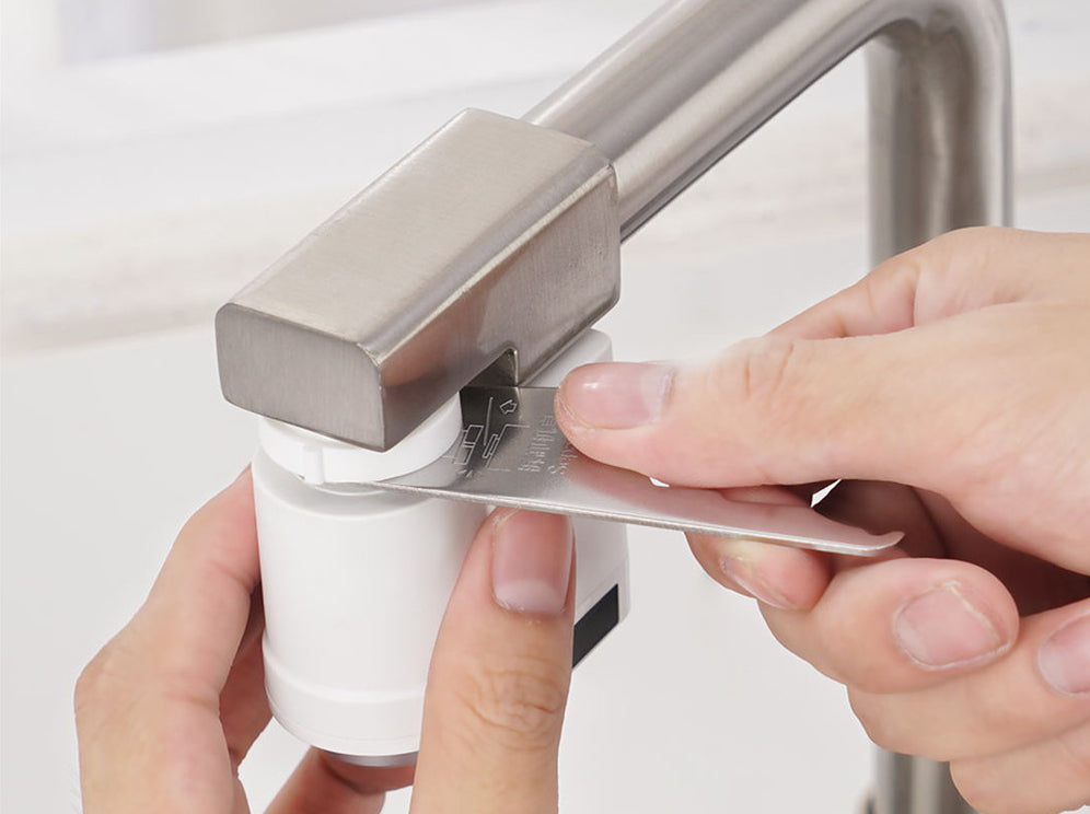 Kitchen And Bath - Sensy™ Touchless Hands Free Faucet With No Touch Infrared Flow Motion Sensor
