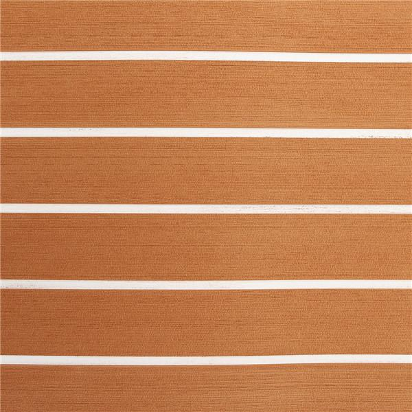 Mechanical Parts - Brown And White Foam Sheet Boat Synthetic Teak Decking