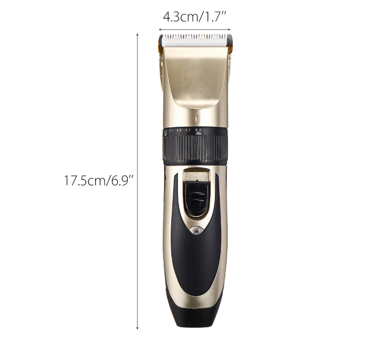 Petcare - Groomsy™ Best Rechargeable Dog Cat Pet Hair Clippers Trimmer And Grooming Kit