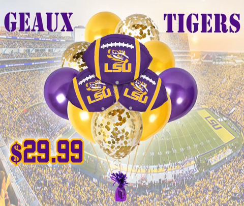 LSU Geaux Tigers Bouquet Deal