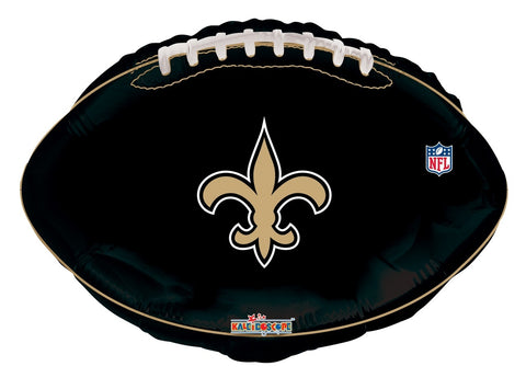 Saints Football Black