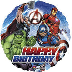 Avengers Happy B-Day 18'' Balloon