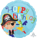 Happy Birthday Pirate