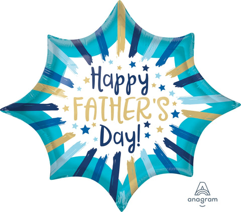 Happy Fathers Dad Bright Star 35''