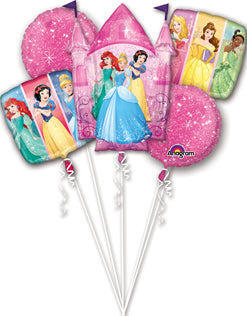 Disney Princesses Balloon Bouquet Kit