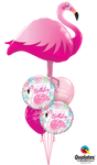 Flamingo Colorful Bouquet 5pc.