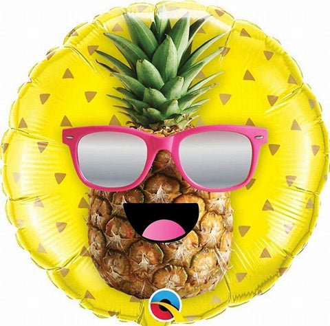 Mr Cool Pineapple Foil Balloon 18in